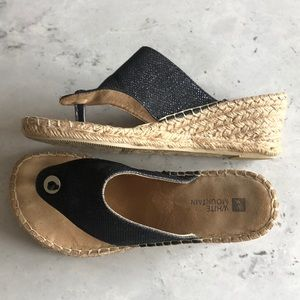 White Mountain Sandals